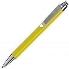 BETA, ручка шариковая, желтый/хром, металл
