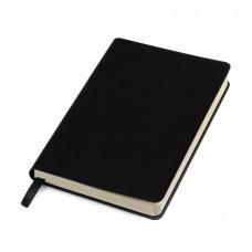 """Бизнес-блокнот """"URBAN"""", 130 × 210 мм,  черный,  мягкая обложка,  блок-линейка"""