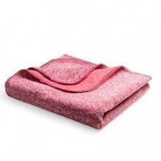 "Плед ""Yelix"", флис 280 гр/м2, размер 120*160 см, цвет красный меланж"