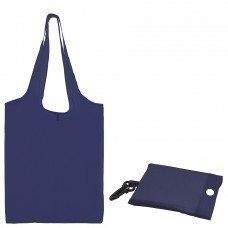 "Сумка для покупок ""Shopping""; синий; 41х38х0,2 см (в сложенном виде 8,5х12х1см); Полиэс; шелкография"