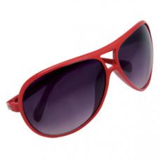 """Очки солнцезащитные """"Floid"""", UV 400; красный; пластик; тампопечать"""