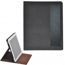 """Чехол-подставка под iPAD """"Смарт"""",  черный, 19,5x24 см,  термопластик, тиснение, гравировка"""