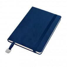 Ежедневник недатированный Boomer, А5,  темно-синий, кремовый блок, без обреза