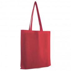 """Сумка для покупок из хлопка """"Eco""""; красный; 38х42 см; 100% хлопок; шелкография"""