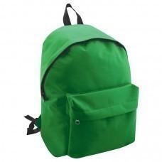 "Рюкзак ""Discovery""; зеленый; 29х39х12 см; полиэстер; шелкография"