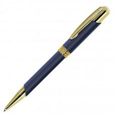 ADVOCATE, ручка шариковая, синий/золотистый, металл