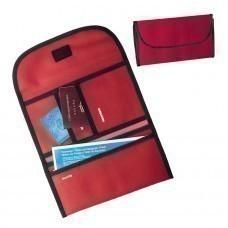 """Органайзер дорожный """"Tour"""",  красный , 34х16х15 см; полиэстер 300D; шелкография"""