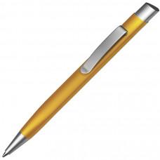 TRIANGULAR, ручка шариковая, желтый/хром, металл