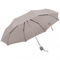 """Зонт складной """"Foldi"""", механический, серый"""