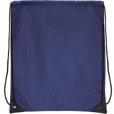 "Рюкзак ""Promo""; синий; 33х38,5х1см; полиэстер; шелкография"