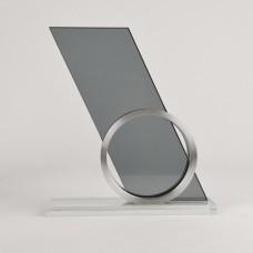 """Стела """"Gong"""" в подарочной упаковке; стекло; металл"""