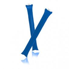 """Палки-стучалки надувные """"Оле-Оле"""" ; синий; 60х10 см., ПВХ;"""
