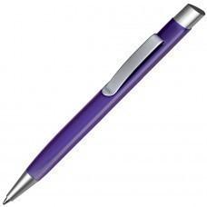 TRIANGULAR, ручка шариковая, фиолетовый/серебристый, металл