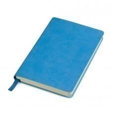 """Блокнот """"URBAN"""", 90 × 140 мм,  голубой   мягкая обложка,  блок-клетка, тиснение"""