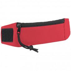 """Кошелек на запястье """"Ronda""""; красный; 27х7х0,4 см; полиэстер; шелкография"""