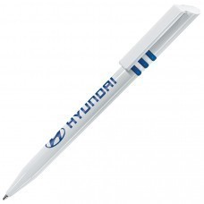 GRIFFE, ручка шариковая, синий/белый, пластик