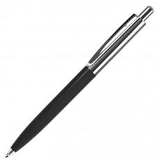 BUSINESS, ручка шариковая, черный/серебристый, металл/пластик