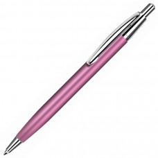 EPSILON, ручка шариковая, розовый/хром, металл