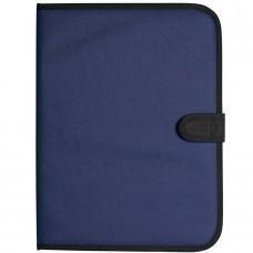 """Папка для документов """"Campus"""", синий, полиестер  600D,  24х32.5 см"""