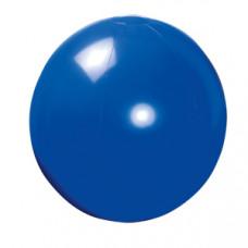 Мяч пляжный надувной; синий; D=40 см (накачан), D=50 см (не накачан), ПВХ