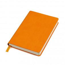 """Бизнес-блокнот """"URBAN"""", 130 × 210 мм,  оранжевый,  мягкая обложка,  блок-линейка"""