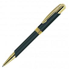 ADVOCATE, ручка шариковая, черный/золотистый, металл