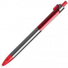 PIANO, ручка шариковая, графит/красный, металл/пластик