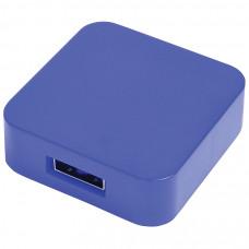 "USB flash-карта ""Akor"" (8Гб),синяя, 4х4х1,3см,пластик"