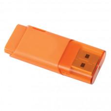 "USB flash-карта ""Osiel"" (8Гб),оранжевый, 5,1х2,2х0,8см,пластик"