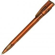 KIKI LX, ручка шариковая, прозрачный коричневый, пластик