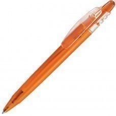 X-8 FROST, ручка шариковая, фростированный оранжевый, пластик