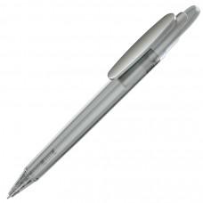 OTTO FROST SAT, ручка шариковая, фростированный белый/серебристый клип, пластик