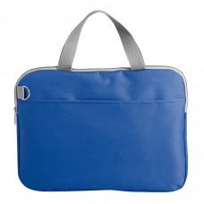 """Конференц-сумка """"Тодес-2"""" с отделением для ноутбука, синий, 40*30*2,5 см; полиэстер 600D; шелкогр"""