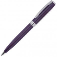 ROYALTY, ручка шариковая, фиолетовый/серебро, металл, лаковое покрытие
