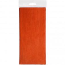 """Упаковочная бумага """"Тишью"""", оранжевый  10 листов в упаковке, размер листа 50*75 см"""