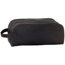 """Сумка для обуви """"Vega""""; черный; 34х16х15 см; полиэстер 600D; шелкография"""