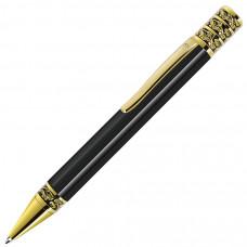 GRAND, ручка шариковая, черный/золотистый, металл
