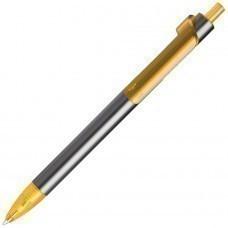 PIANO, ручка шариковая, графит/желтый, металл/пластик