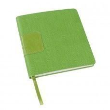 Ежедневник недатированный Scotty, А5-,  зеленое яблоко, кремовый блок, без обреза