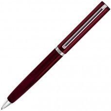 BULLET, ручка шариковая, красный/хром, металл