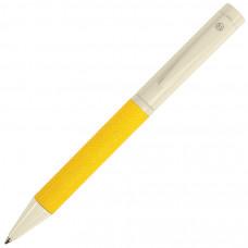 PROVENCE, ручка шариковая, хром/желтый, металл, PU