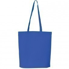 """Сумка для покупок """"PROMO""""; синяя; 38 x 45 x 8,5 см;  нетканый 80г/м2"""