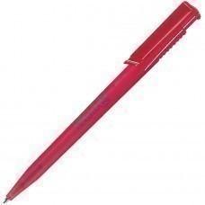 OCEAN FROST, ручка шариковая, фростированный красный, пластик