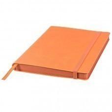 Ежедневник недатированный Shady, А5,  оранжевый, кремовый блок, оранжевый обрез