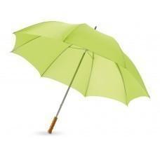 """Зонт трость для гольфа, механический 30"""", лайм"""
