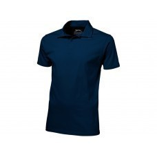 "Рубашка поло ""Let"" мужская, темно-синий"
