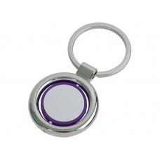 Брелок, фиолетовый/серебристый
