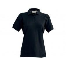 """Рубашка поло """"Forehand"""" женская, черный"""