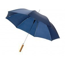 """Зонт-трость """"Lisa"""" полуавтомат 23"""", темно-синий"""