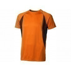"""Футболка """"Quebec Cool Fit"""" мужская, оранжевый"""